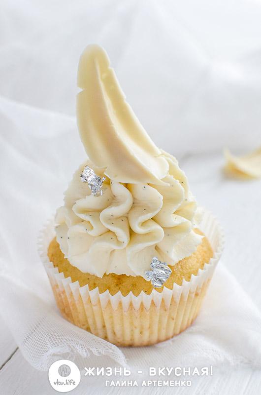 рецепт ванильных капкейков