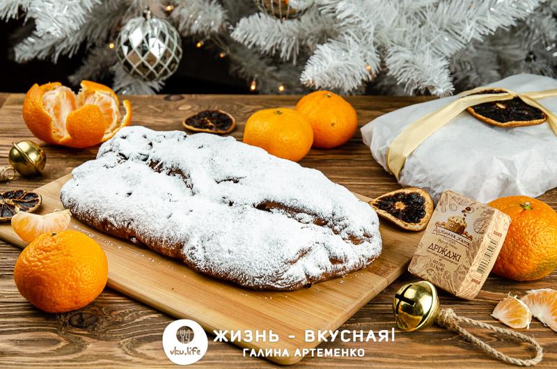 рождественский штоллен классический рецепт