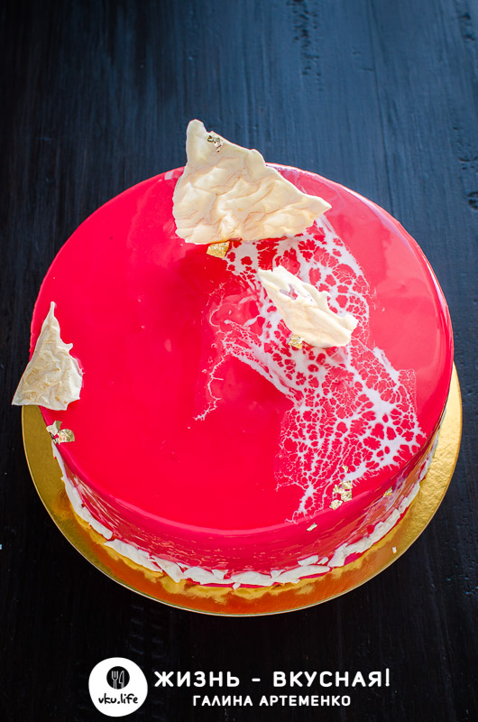 новогодний торт без мастики