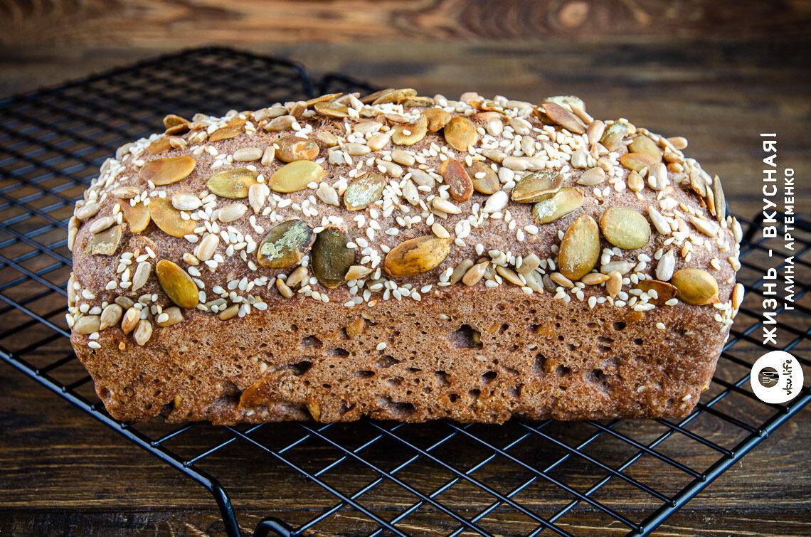 хлеб без глютена рецепт