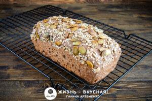 хлеб без глютена и дрожжей