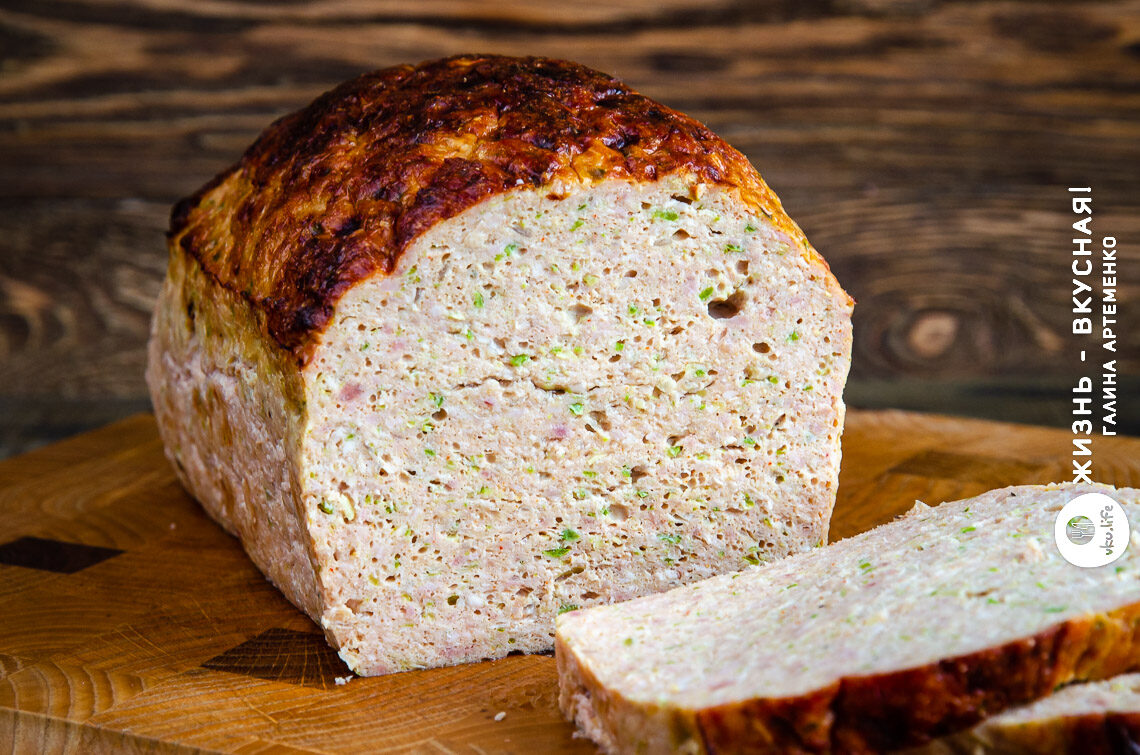мясной хлеб рецепт