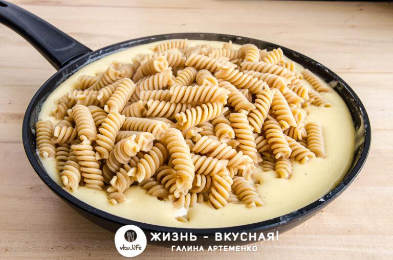макароны с сыром рецепт на сковороде