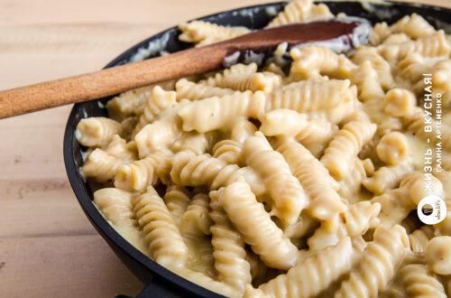 макароны с сыром рецепт