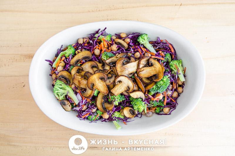 вкусный салат из капусты рецепт