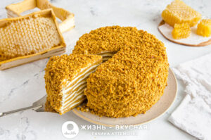 торт медовик без раскатки коржей
