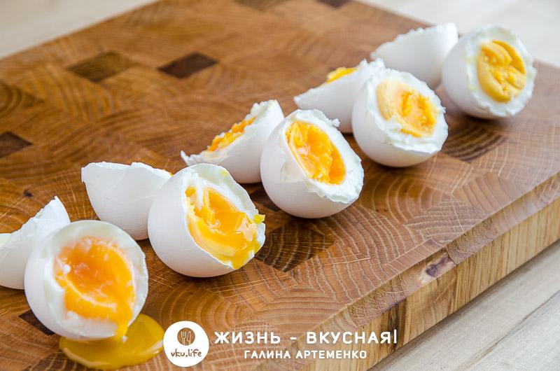 сколько варить яйца после закипания