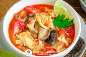 пошаговый рецепт супа том ям