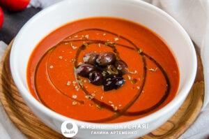 томатный суп пюре из помидоров